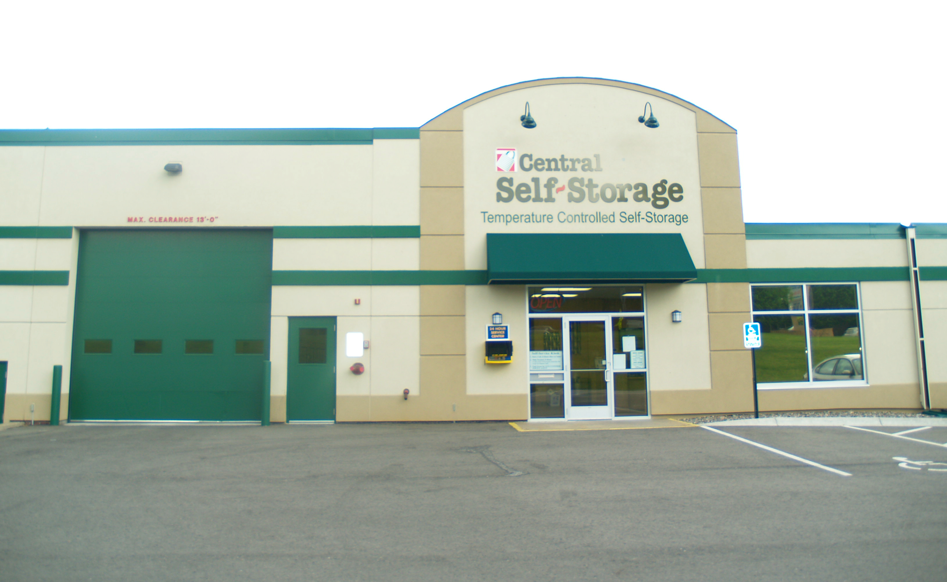 New Hope Mn Self Storage On N Winnetka Ave Central
