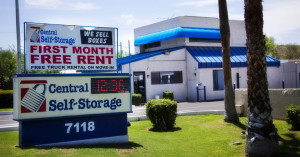 Rent Self Storage Units In Arizona Central Self Storage