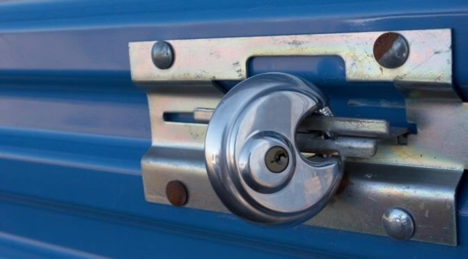 A Self Storage Locks Buying Guide Central Self Storage
